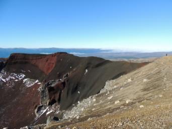 tongariro-red crater